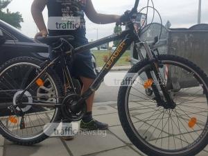 Откраднаха колело от дете посред бял ден! Майка му проследи крадеца до Столипиново СНИМКИ