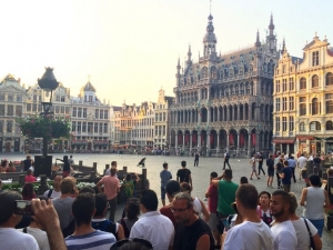 Мъж се самозапали в центъра на Брюксел