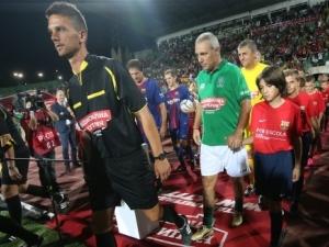 Ицо почете пловдивски легенди, пожар преди мача, пожар от емоции на стадиона