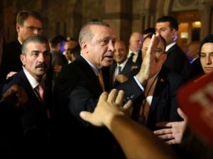 Ердоган предизвика сблъсъци в Ню Йорк