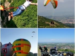 Най-екстремните преживявания на час от Пловдив СНИМКИ