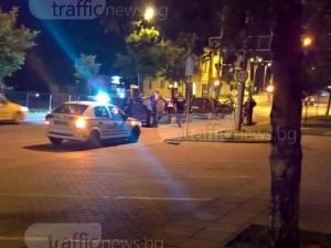 Две зверски катастрофи в Пловдив - загина моторист, кола е по таван!