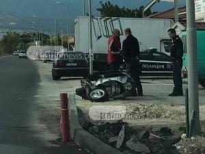 40-годишен мъж е загиналият моторист в Пловдив, спътникът му е в болница