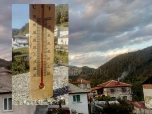 Температурата падна до 3 градуса, през октомври до минус 4