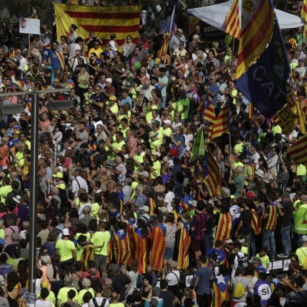 Хиляди пак поискаха независимост на Каталуния