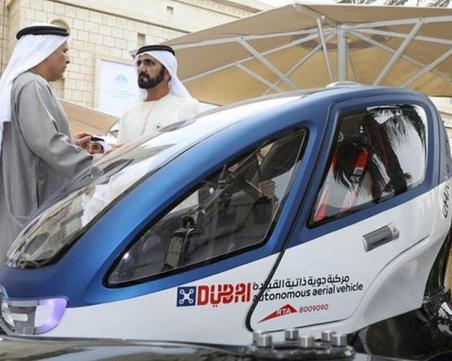 Модерни времена: Дубай тества... таксита-дронове