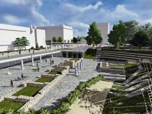 Пием си кафето и гледаме археологически разкопки на модерния пловдивски площад