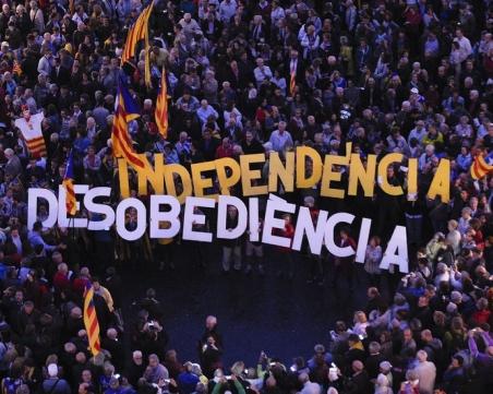 Размирици в Барселона, полицията иззе 2,5 млн. бюлетини