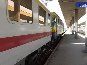 Влакът стрела пристигна в Пловдив 50 години след Япония ВИДЕО