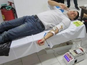 Даряваме кръв и подаряваме живот в Пловдив днес