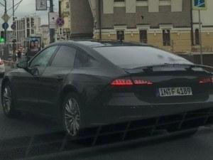 Новото Audi A7 вече е и на улицата, готово е за премиера СНИМКА