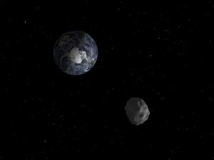След 9 дни астероид, колкото Челябинския метеорит, ще мине покрай Земята