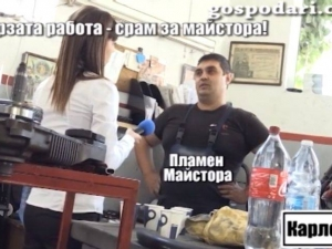 """След палежа на """"господарката"""" в Карлово: Задържаха Пламен Майстора ВИДЕО+СНИМКИ"""