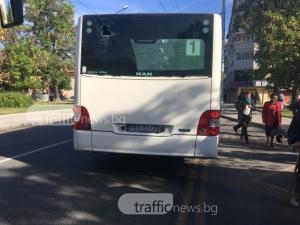 Надпревара за пътници! Два рейса катастрофираха след гонка в Кючука СНИМКИ
