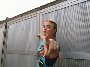 Пловдивчанката Лолита - изгряващата звезда на българския хип-хоп СНИМКИ