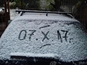 Снегът дойде! Силни валежи от дъжд обхванаха и цялата страна СНИМКИ