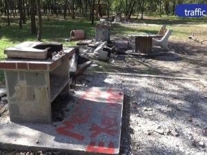 Веганската акция в Лаута с обратен ефект - възстановяват барбекютата, правят още 3 нови ВИДЕО
