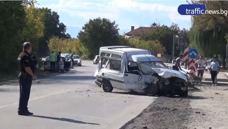 Разказ от първо лице за мелето край Пловдив, в което загина жена ВИДЕО