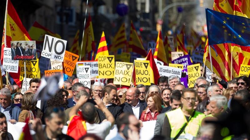 Катaлуния бойкотира празника на Испания