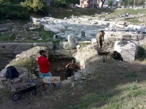 Разкриват древната порта на Филипопол, през която влизали императорите СНИМКИ