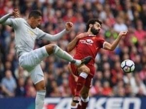 Дефанзивен Манчестър Юн удържа нулево равенство в дербито с Ливърпул