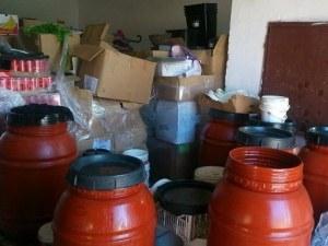 Полицаи иззеха 1500 килограма маслини с неясен произход СНИМКИ