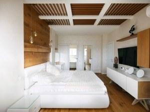От дефект в ефект: Уникална спалня с приобщен балкон СНИМКИ