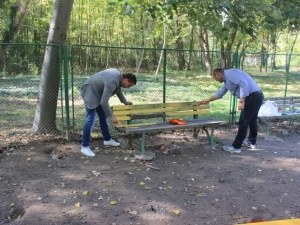 Пловдивчани ще могат да тренират кучетата си на освежена площадка СНИМКИ