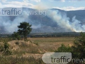 Пожар нанесе щети за 20000 лева в Калояново