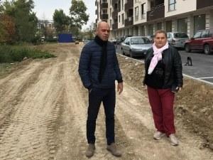 """Изграждат паркинг със 70 места в ЖР """"Тракия"""" СНИМКА"""