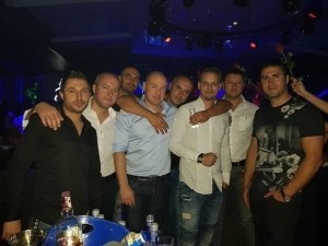 Бизнесменът Явор Делев празнува дъщеричка в W клуб