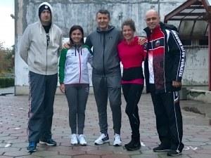 Иван Тотев се разкърши на тренировка с пловдивски ученици СНИМКИ