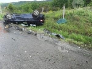 Кола изхвърча в рибарник край Девин, шофьорът загина