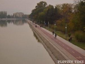 Невероятна гледка - златна есен на Гребната в Пловдив