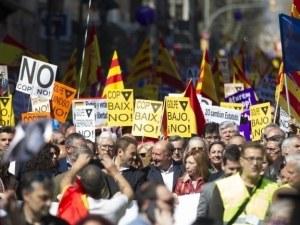Случи се: Каталунски град обяви независимост от Испания