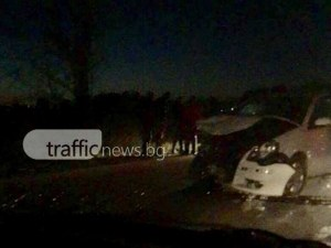 Зверска катастрофа край Пловдив! Три коли са смачкани до неузнаваемост ВИДЕО*