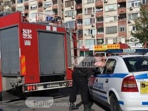 Автомобил избухна в пламъци в Тракия СНИМКИ