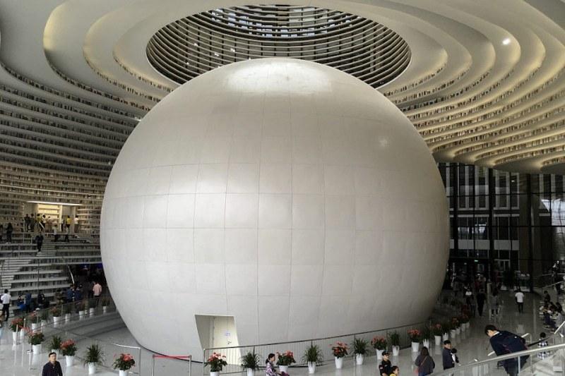 Най-модернистичната библиотека в света отвори врати СНИМКИ