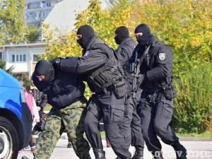 Вместо спортисти - полицаи показват умения днес до стадион Пловдив