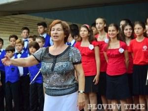 "Диригентът на ""Детска китка"" Златина Делирадева става Почетен гражданин на Пловдив"