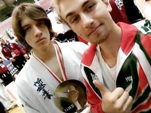 16-годишен пловдивчанин стана европейски шампион по карате СНИМКИ