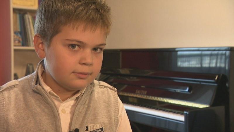 10-годишен български талант покори Москва в престижен конкурс по пиано ВИДЕО