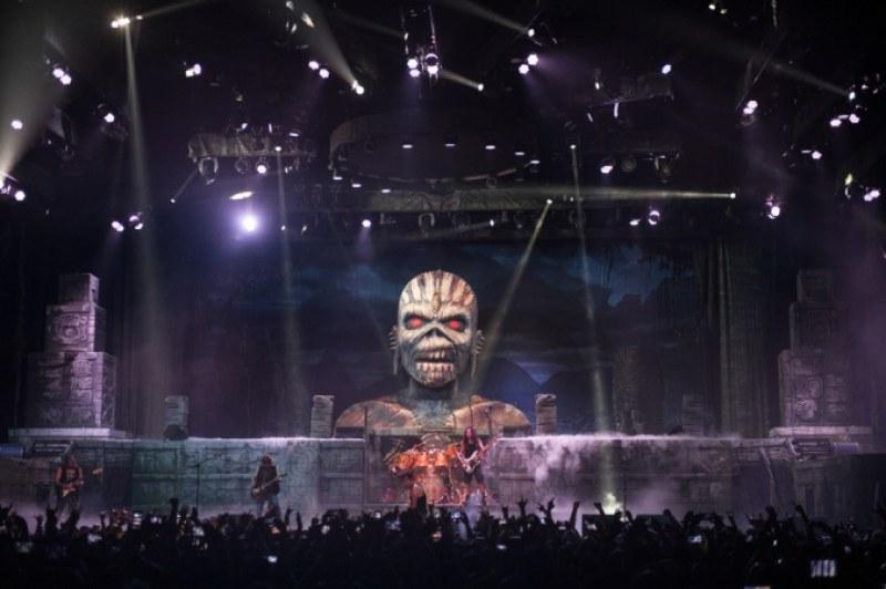 Да! Iron Maiden идват в Пловдив за Hills of the Rock