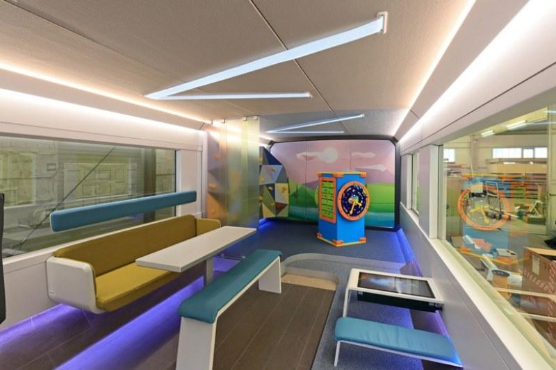 Влаковете в Германия изкушават с вагони за геймъри
