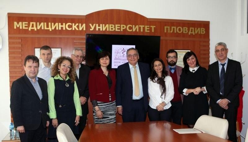 МУ- Пловдив в тясно сътрудничество с университет и болница в Йерусалим