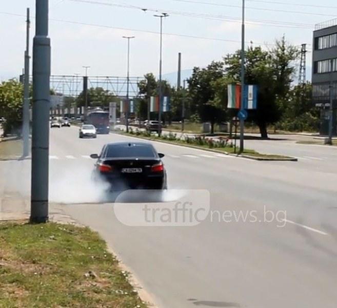 Пловдивчани сред най-големите джигити на пътя ВИДЕО
