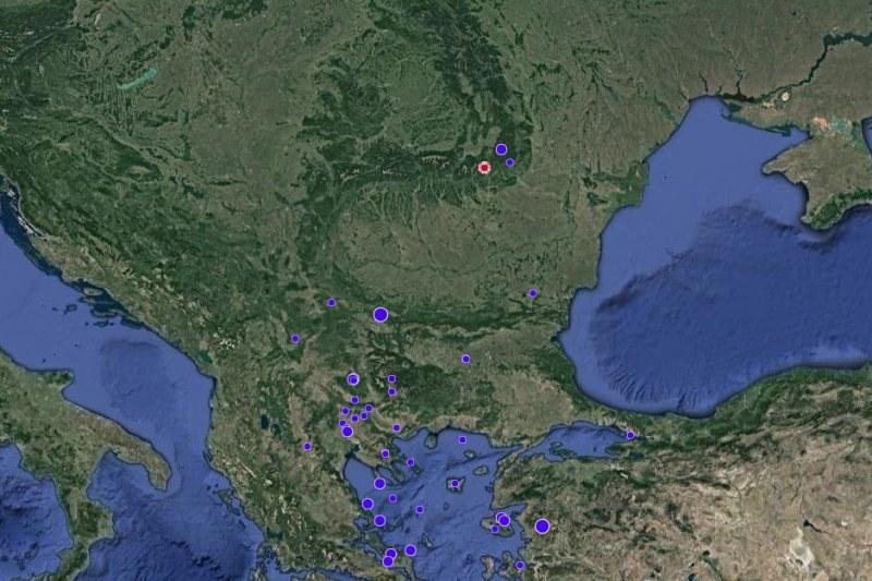 Земетресение разтресе Румъния