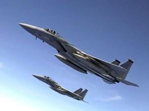 Американски пилоти изрисуваха полов член в небето над Вашингтон СНИМКА