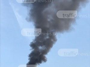 Фирма на Кукленско отрови въздуха, запали пластмаси в двора