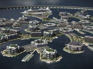 Уникален плаващ град ще стане факт до 2020 година! Проектът е първият по рода си